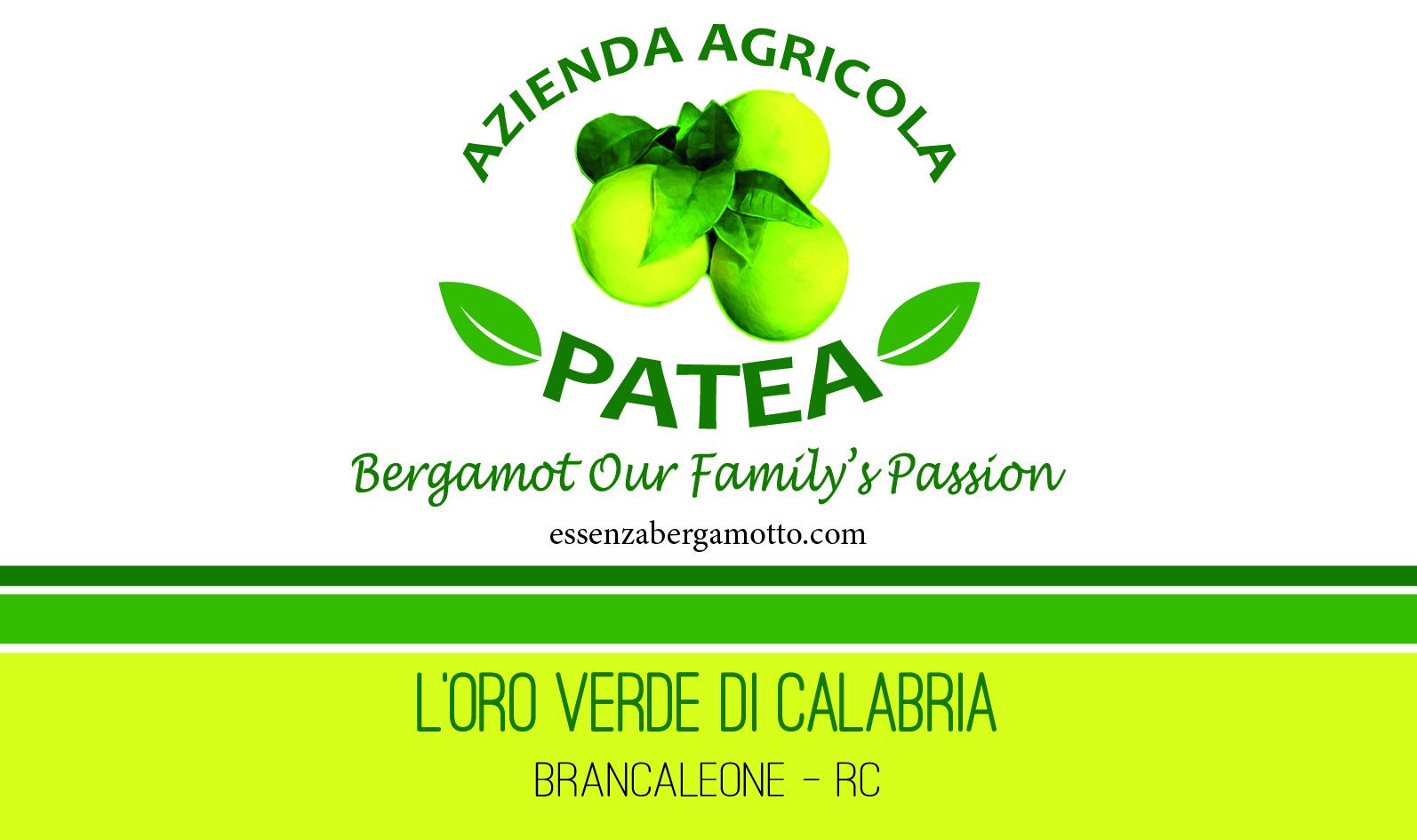 L'Azienda Agricola Patea e l'Oro Verde di Calabria, il bergamotto.