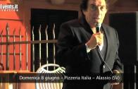 Tony Dallara ritorna ad Alassio (SV)