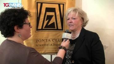 Una donna per la città 2015 – Zonta Club Alassio-Albenga