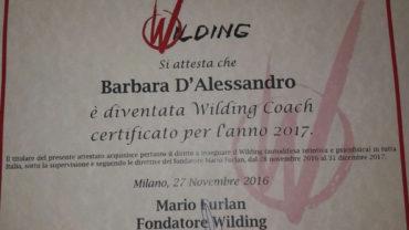 BARBARA D'ALESSANDRO E' LA PRIMA DONNA WILDING