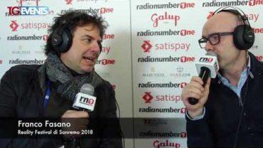 Festival di Sanremo 2018 – Franco Fasano