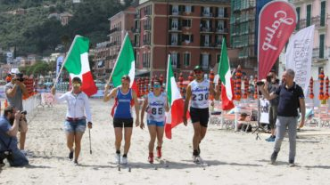 SCI DI FONDO ON THE BEACH LAIGUEGLIA 2018