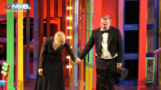 """Ugo Dighero e Gaia De Laurentiis in teatro con """"Alle cinque da me"""""""
