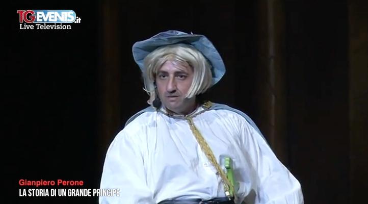 Gianpiero Perone, la storia di un grande Principe