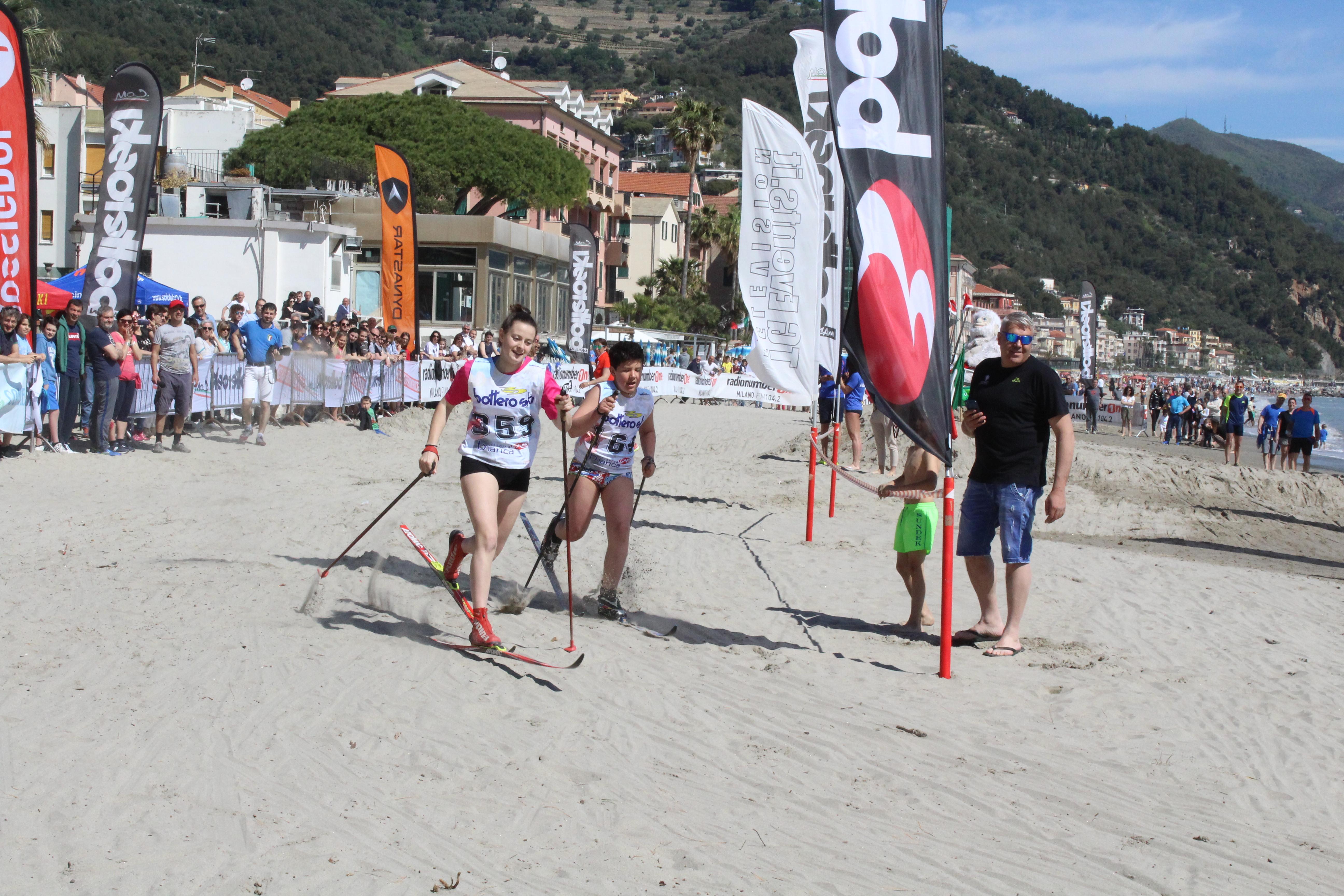 SCI DI FONDO ON THE BEACH
