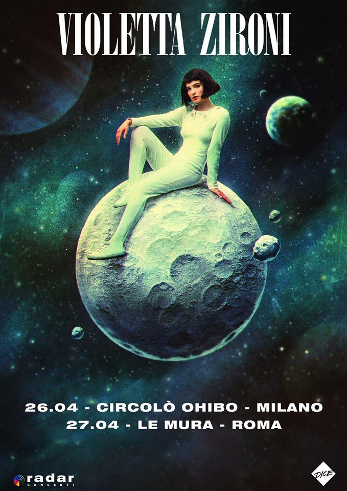 Rinviato ad aprile il concerto di Violetta Zironi