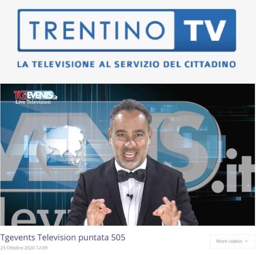 TGEVENTS in onda su TRENTINO TV Canale 12