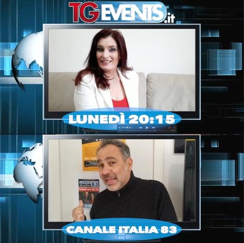 Tutti i lunedì su CANALE ITALIA 83