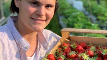 In Versilia la prima agri-blogger contadina