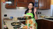In cucina con Rossella, pasta con la zucca.